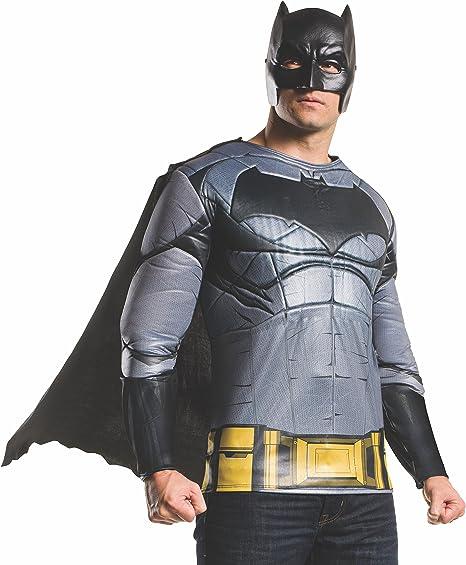Kit disfraz de Batman Batman vs Superman deluxe para hombre ...