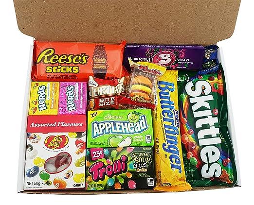 16 opinioni per Confezione Piccola di Snack Americani | Caramelle e Cioccolato per Idea Regalo