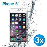 3 x Smartskin iPhone 6 Schutzhülle schützt perfekt vor Wasser, Staub, Sand, Schnee und vielem mehr und ist wiederverwendbar