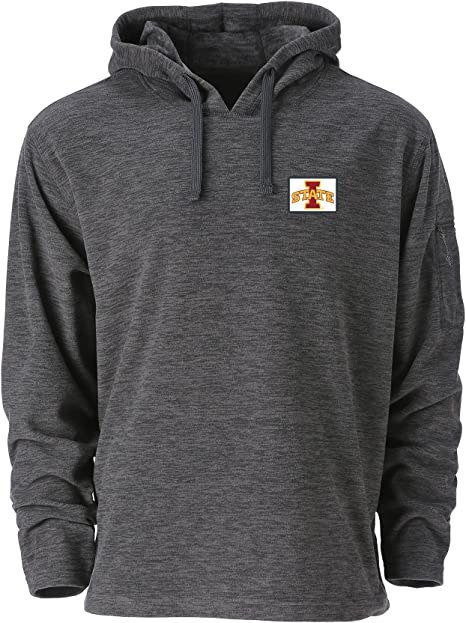 Athletic Heather Ouray Sportswear NCAA Utah Utes Mens M Confluence 1//4 Zip X-Large