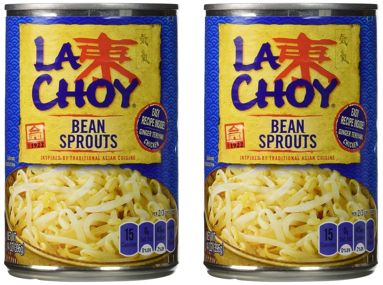 La Choy BEAN SPROUTS Asian Cuisine 14oz (2 pack)