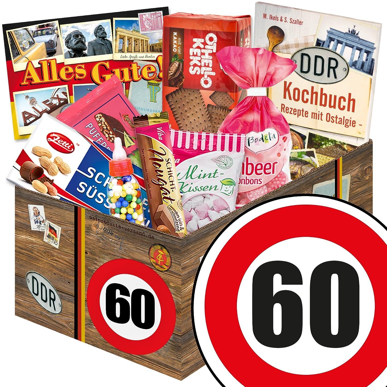 Sussigkeiten Geschenk Ddr Box Zahl 60 Geburtstag Mama Ebay