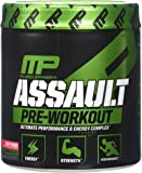 Muscle Pharm Assault Pre-Workout Powder, Fruit Punch, 30 Count