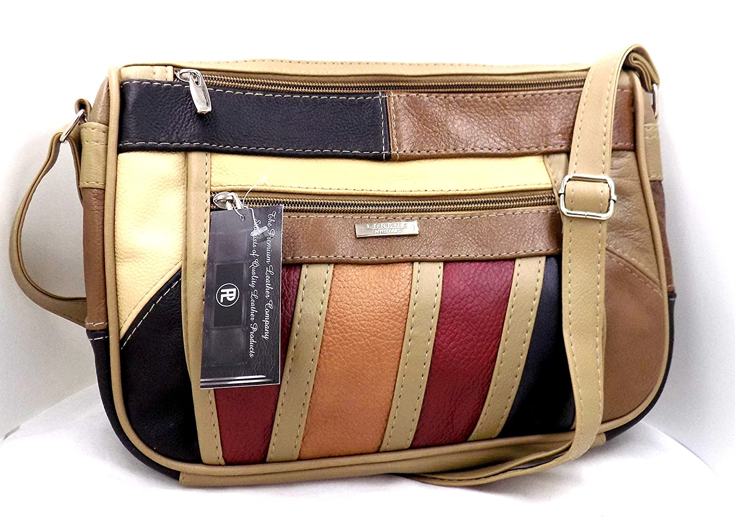 Ladies Soft Leather Designer Handbags Lots Of Compartments Genuine MULTICOLOUR With Purse Amazoncouk Shoes Bags