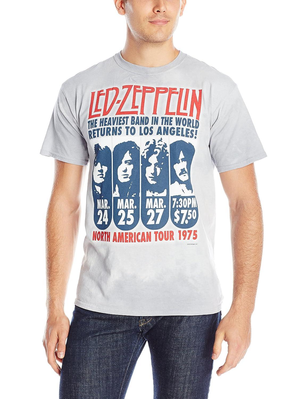 Liquid Blue Men's Led Zeppelin Hermit Short Sleeve Tee Liquid Blue Young Mens 11813