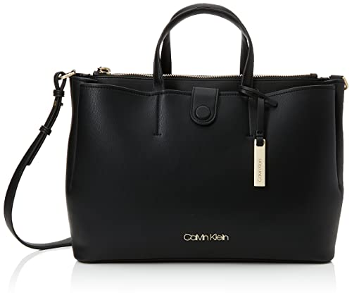 b9c5aaf33e Calvin Klein Jeans Step Up Large Tote, Women's Black, 15x28x42 cm (B ...