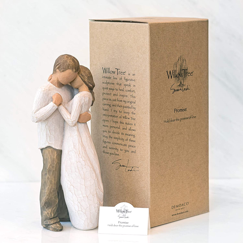 23 cm Willow Tree 26121 Figurine Promesse Figurine en R/ésine Hauteur