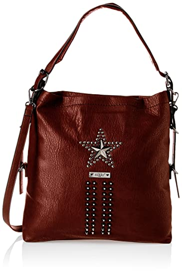 b9660ac69f Amazon.com  Nikky Women s Tote Brown Handbag