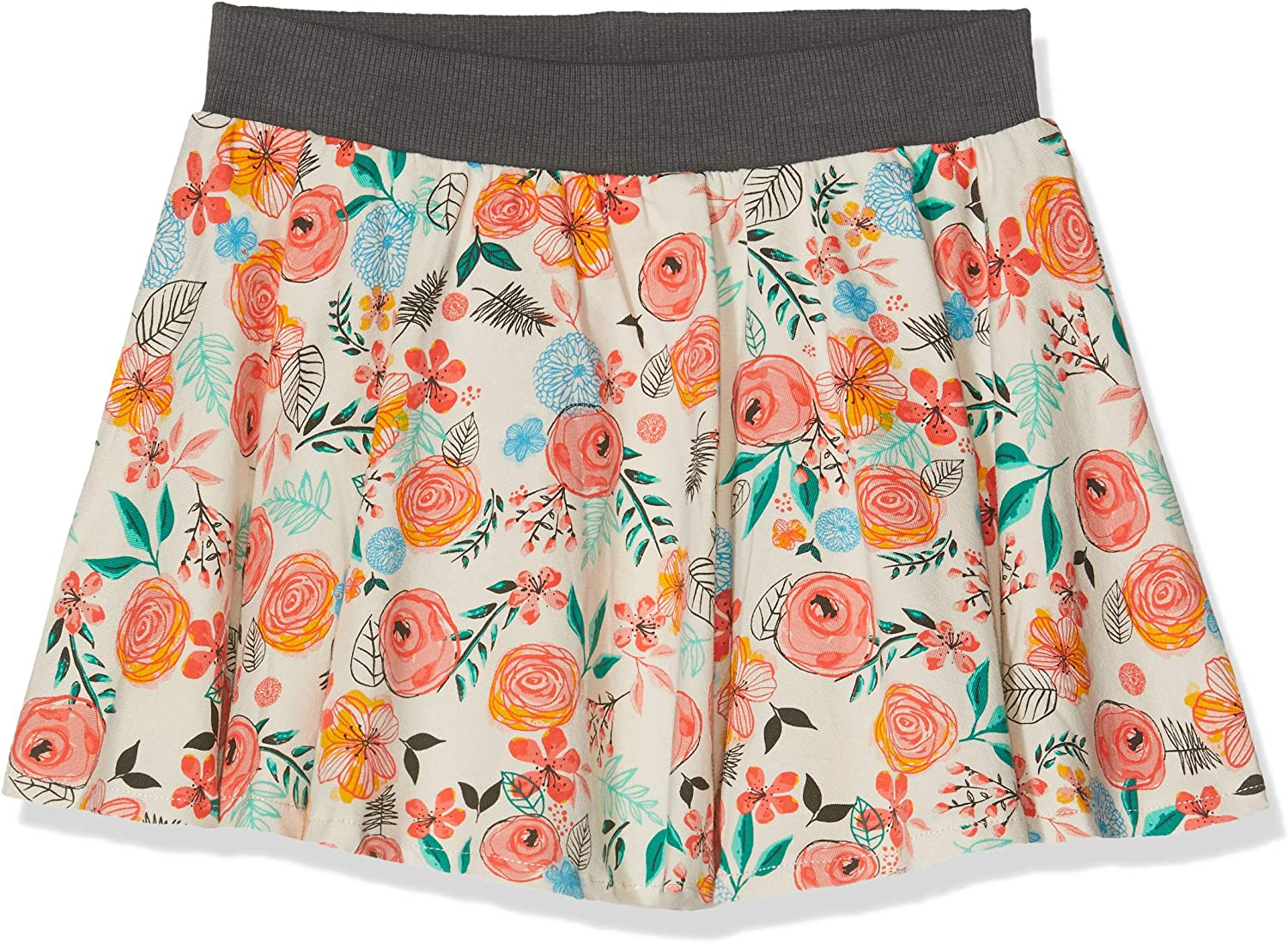 boboli Stretch Knit Skirt For Girl Falda, Multicolor (Flores 9874 ...