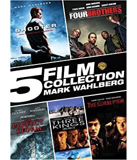 5 Film Collection: Mark Wahlberg (Shooter, Four Brothers, the Perfect Storm,