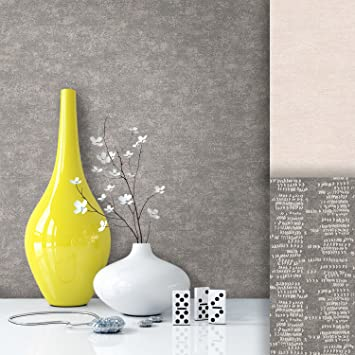 Tapete Vliestapete Uni Grau Braun Edel , Schönes Modernes Afrika Design Mit  Luxus Effekt , Moderne