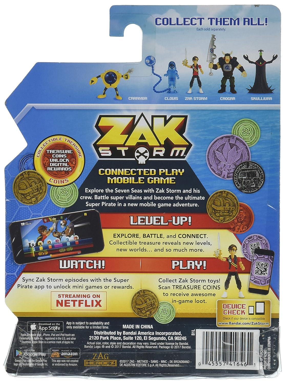 Amazon.com: Zak Storm Zak and Blind Bag figuras de acción, 3 ...
