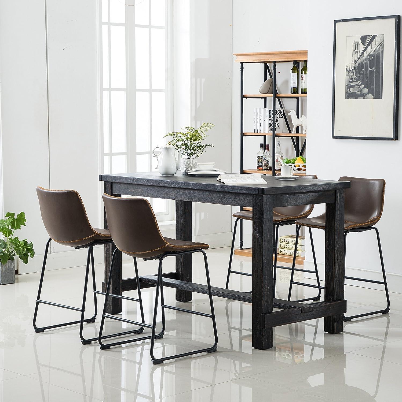 Amazon Com Roundhill Furniture Pt185 Pc185br Pc185br Bronco