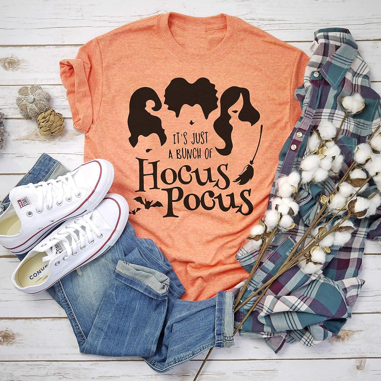 Hocus Pocus - Halloween Shirts - Women's Halloween T-Shirt - Fall Graphic Shirt - Sanderson Sisters - Halloween Tee - Halloween Movie - BC