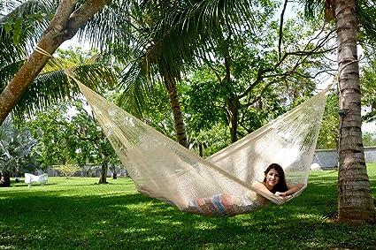 hammocks rada handmade yucatan hammock matrimonial size natural color amazon    hammocks rada handmade yucatan hammock matrimonial      rh   amazon