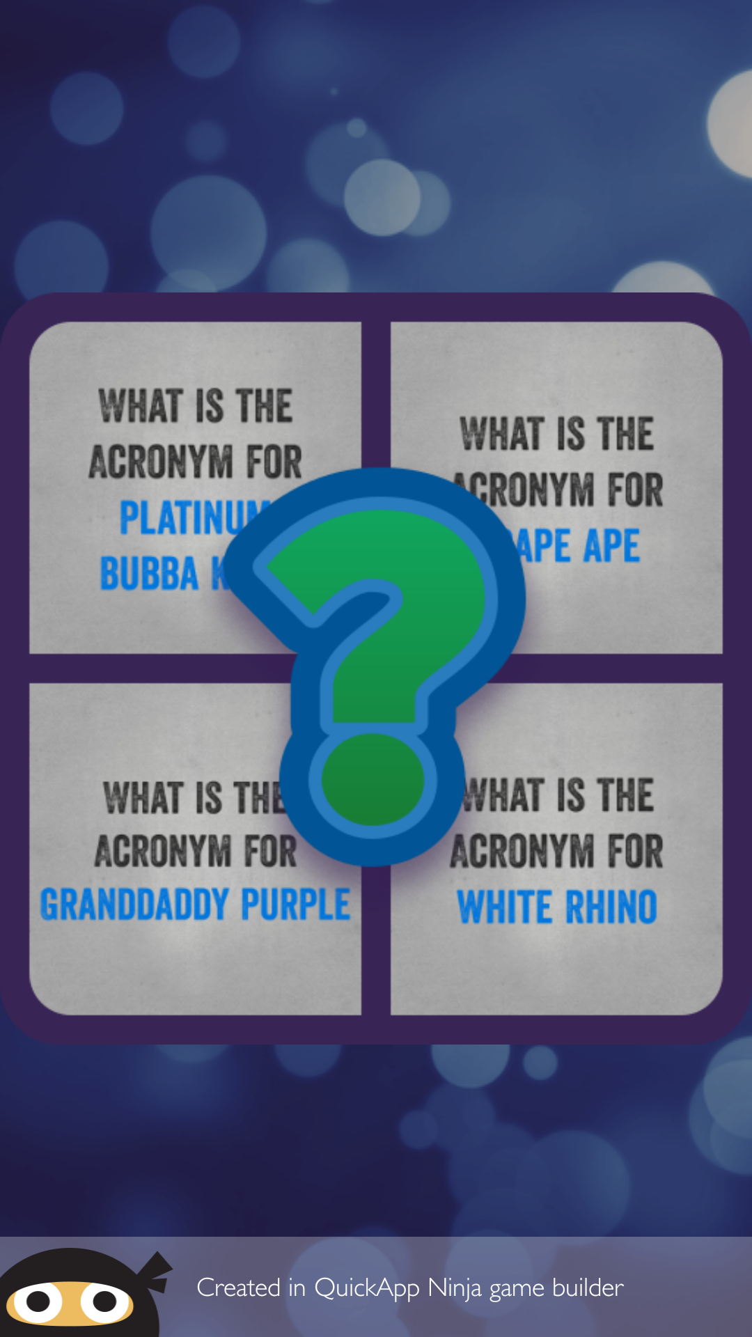Amazon.com: Name the Indica Strain Acronym: Appstore for Android
