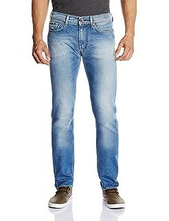 GAS Anders K Jeans, Azul Claro, ((Talla del Fabricante: 38 ...