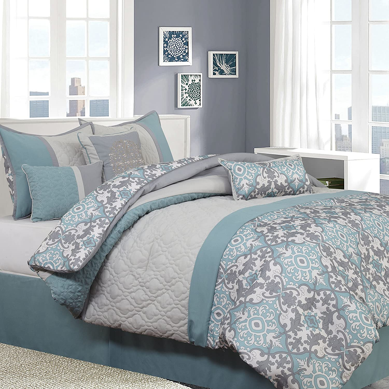 Nanshing REINA 7 Piece Queen Comforter Set