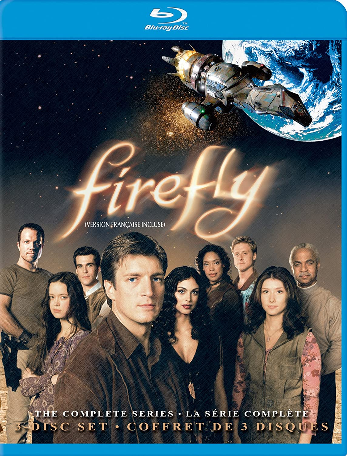 Firefly: The Complete Series [Blu-ray] Nathan Fillion Science Fiction & Fantasy