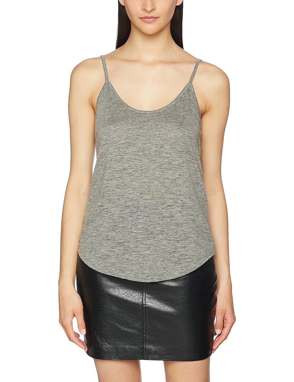 TALLA 40 (Talla del fabricante: Large). PIECES Pcmornin Top, Camiseta sin Mangas para Mujer