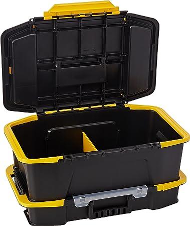 Stanley herramientas de mano Stst19900 Click y conectar 2-in-2 de profundidad caja de herramientas y organizador: Amazon.es: Bricolaje y herramientas