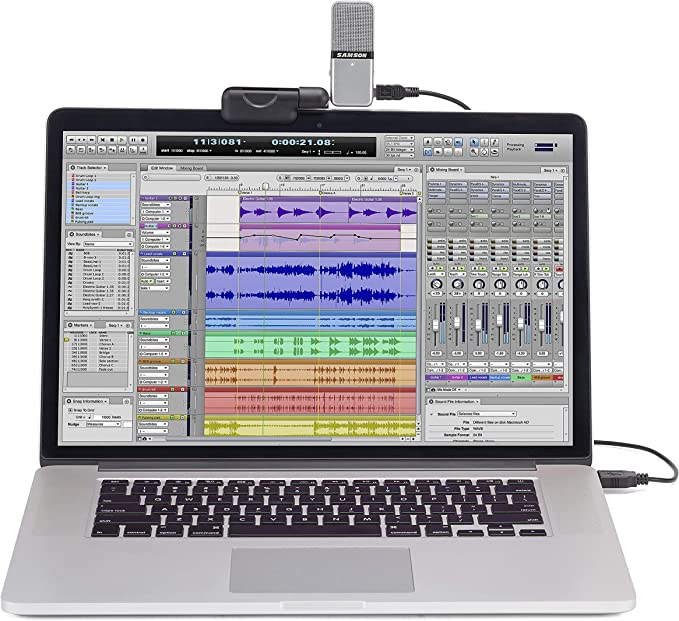 Samson SAGOMIC - Micrófono dinámico (condensador, conector USB ...