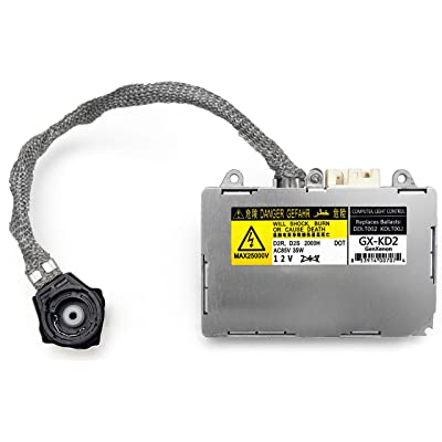 Replacement for Toyota and Lexus Xenon HID Ballast Headlight Control Unit KDLT002 DDLT002, 85967-30050, 85967-50020, 85967-33010 & Others: Automotive