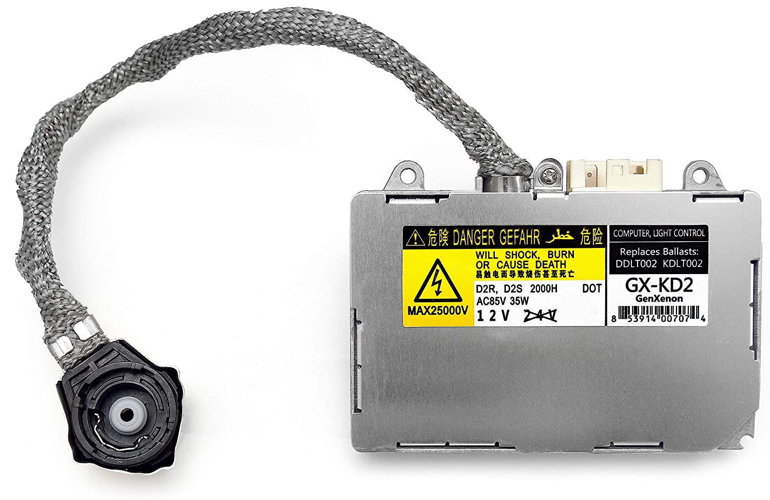 Replacement for Toyota and Lexus Xenon HID Ballast Headlight Control Unit KDLT002 DDLT002 85967-33010 /& Others 85967-50020 85967-30050