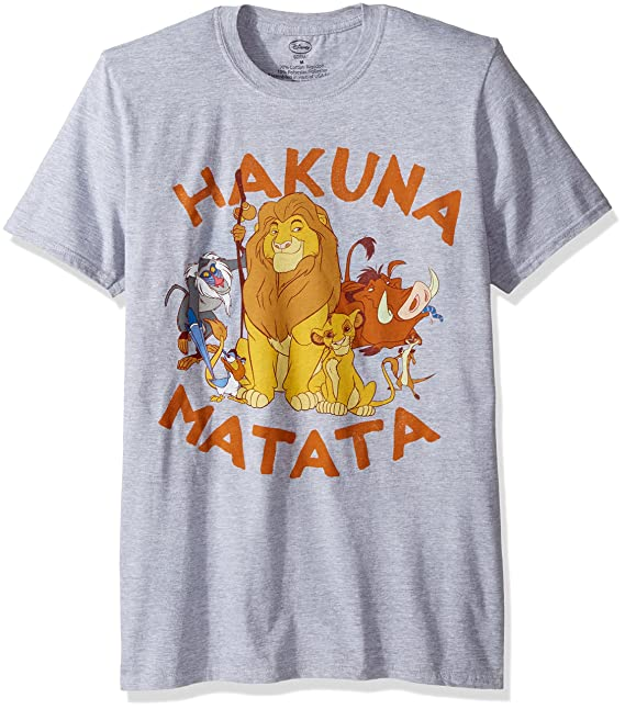 b577e91cf8f0 Disney Mens Hakuna Matata Group T-Shirt T-Shirt: Amazon.ca: Clothing &  Accessories