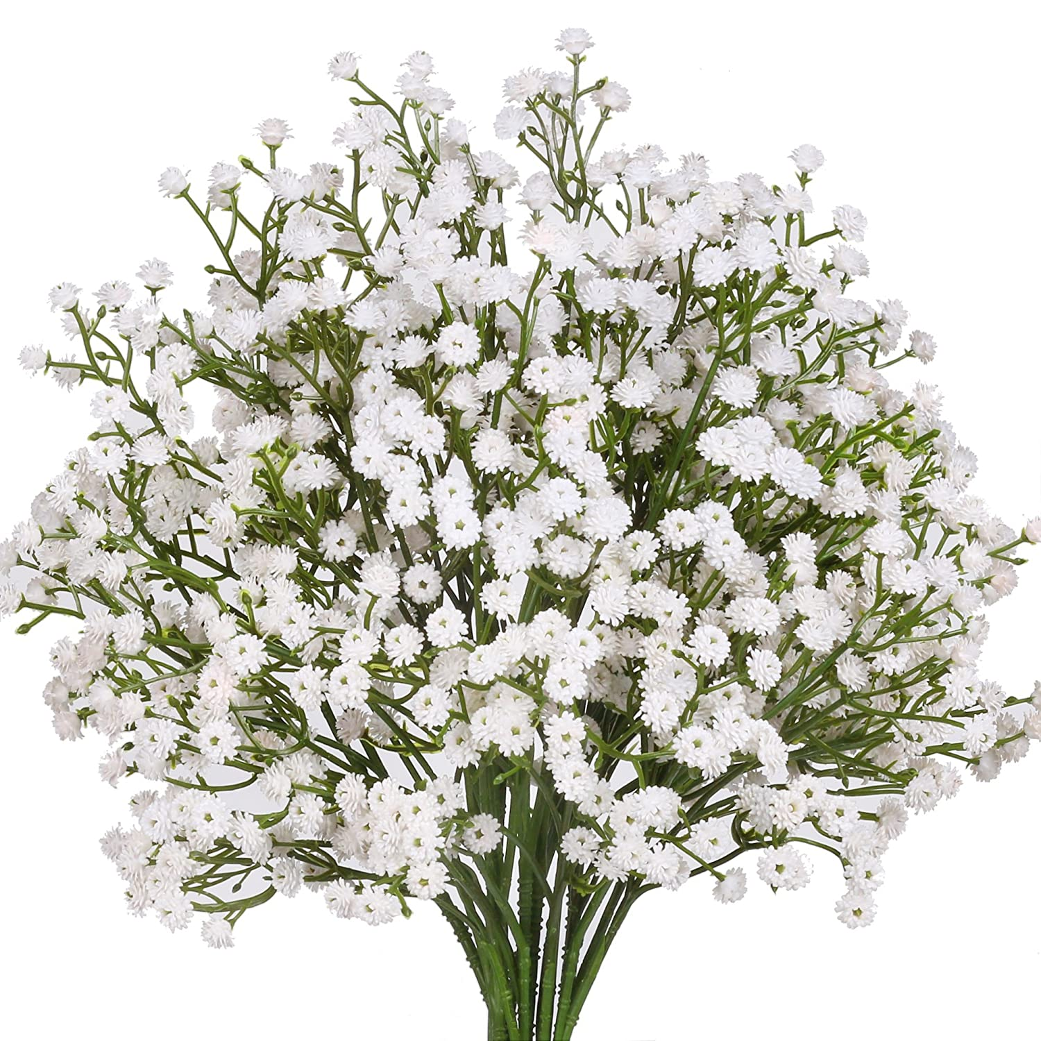 Amazon Senjie Artificial Fake Flowers Babys Breathgypsophila