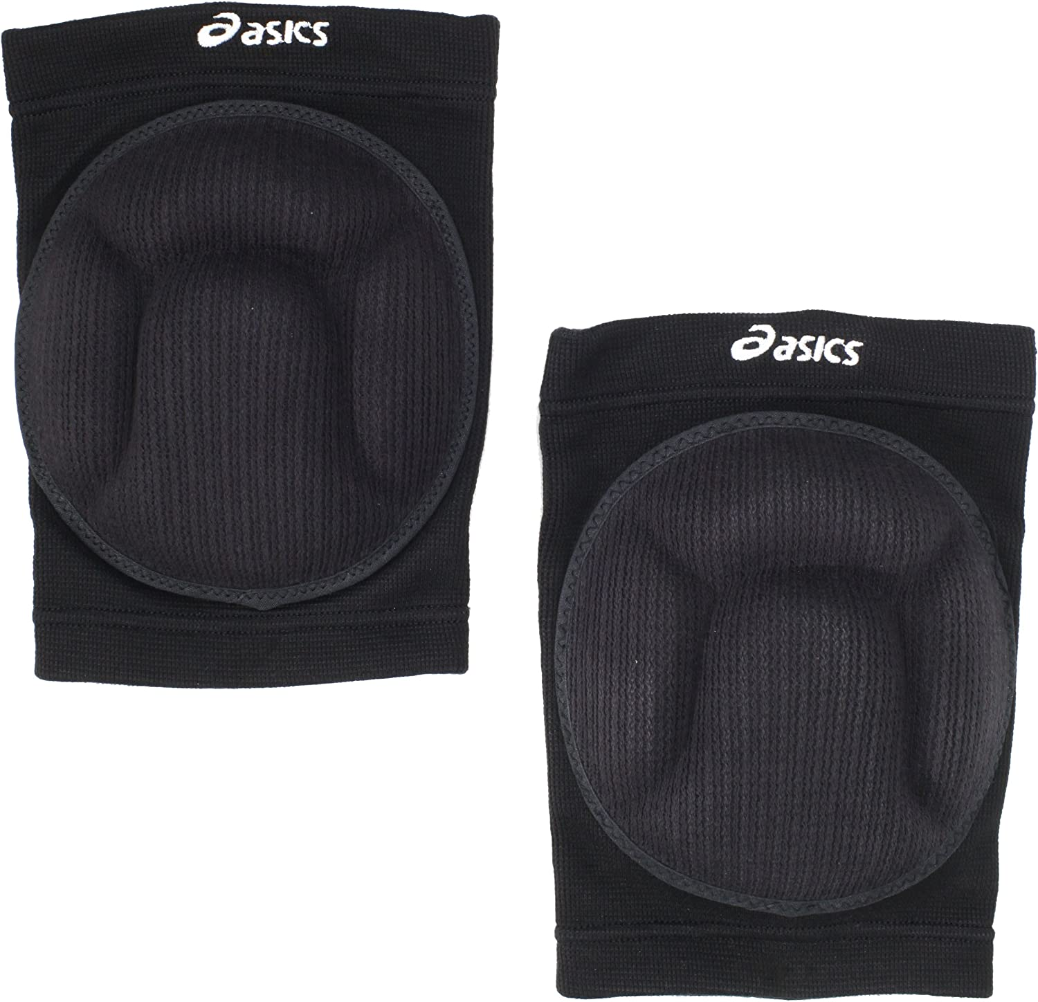ASICS 09, Black, One Size : Volleyball Knee Pads : Clothing