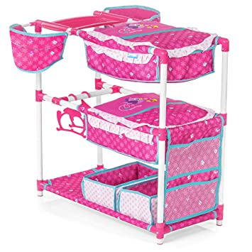Hauck 5in1 Playcenter For Baby Dolls And Cuddly Toys Dolls Bunk