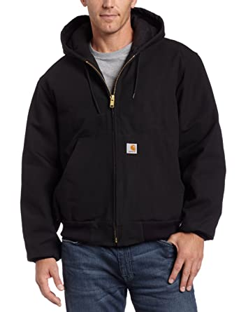 093ff65cd868 Amazon.com  Carhartt Men s Quilted Flannel Lined Duck Active Jacket ...