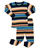 """Amazon Price History for:Leveret Boys """"Striped"""" 2 Piece Pajama Set Top & Pants 100% Cotton (Size Toddler-14 Years)"""