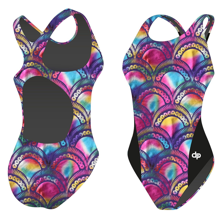 Diapolo Rainbow Scales Badeanzug Hollow Fish Kollektion Schwimmen Synchronschwimmen Wasserball Thriathlon