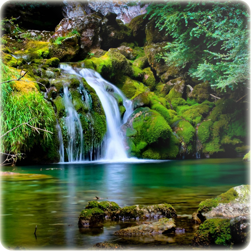 3D Waterfall Wallpaper For