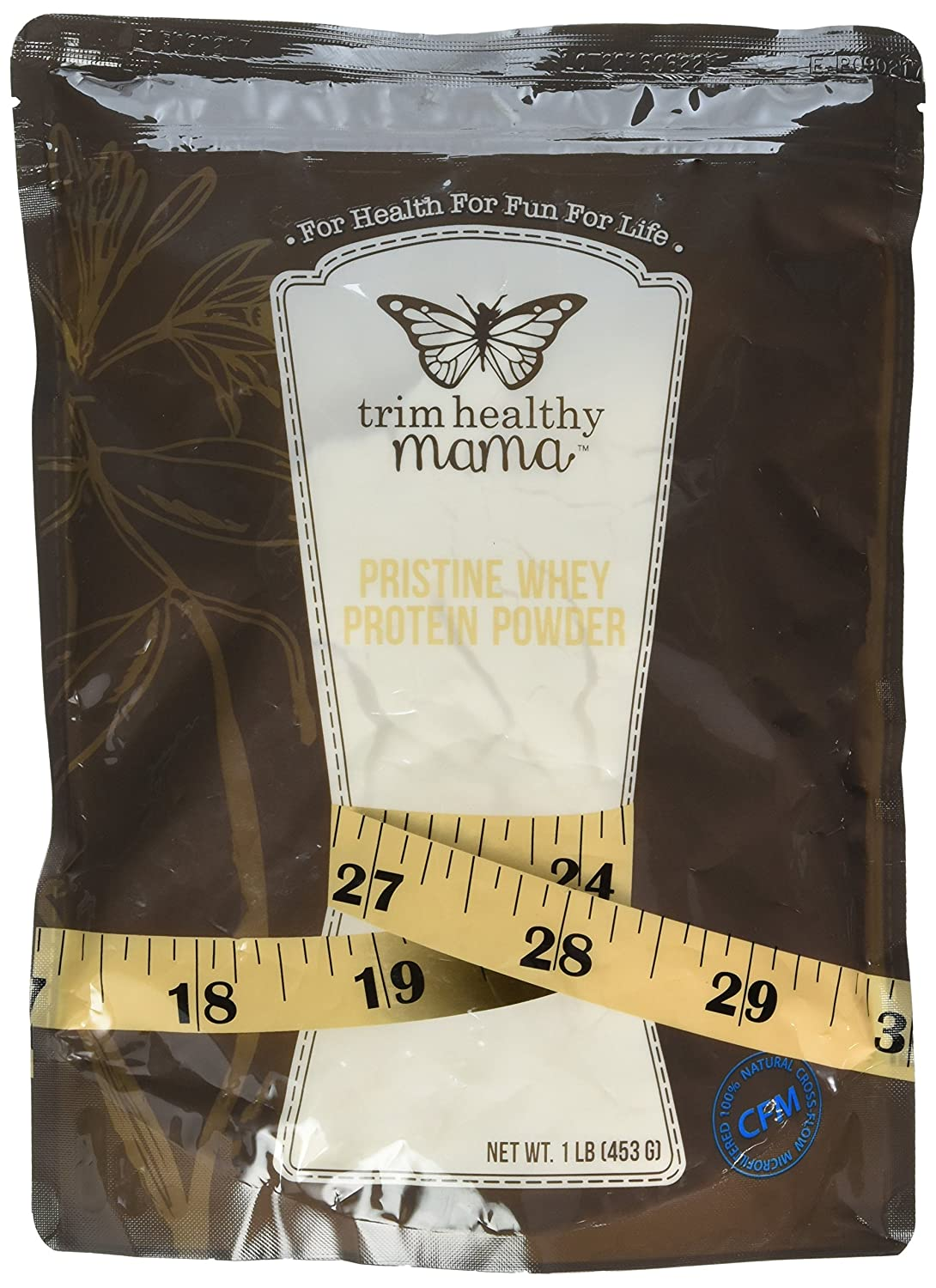 Trim Healthy Mama Pristine Whey Protein Powder 1 lb 453 grams Pkg