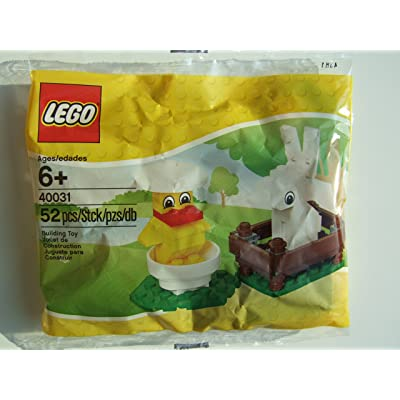 LEGO Seasonal Set Bunny and Chick Bagged (40031): Toys & Games