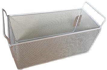 Room Essentials White Wire Storage Basket (Large (16.75u0026quot; X 8.25u0026quot;  ...