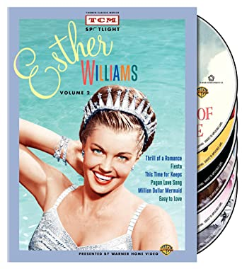 ae33beefb5 TCM Spotlight: Esther Williams - Volume 2 (Thrill of a Romance / Fiesta /  This Time for Keeps / Pagan Love Song / Million Dollar Mermaid / Easy to  Love)