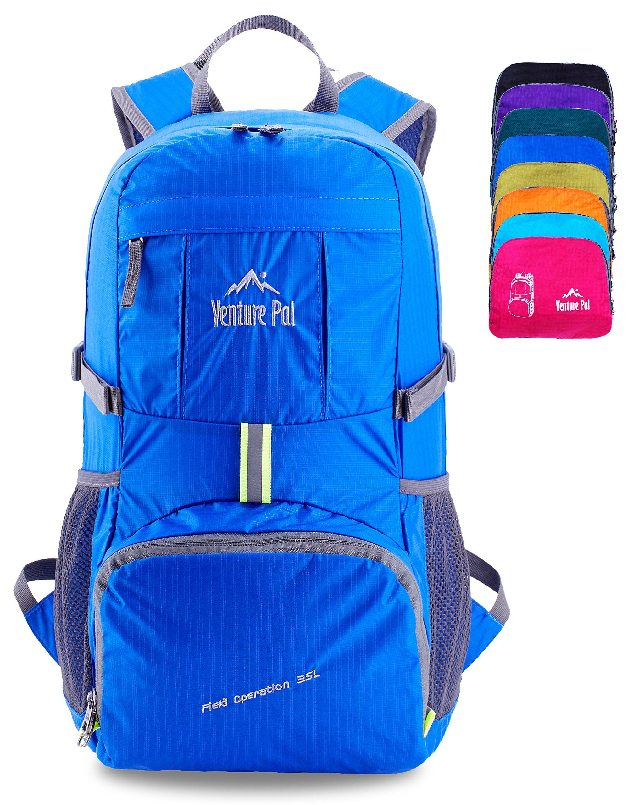 Venture Pal Lightweight Packable Durable Travel Hiking Backpack Daypack (Royal Blue) …