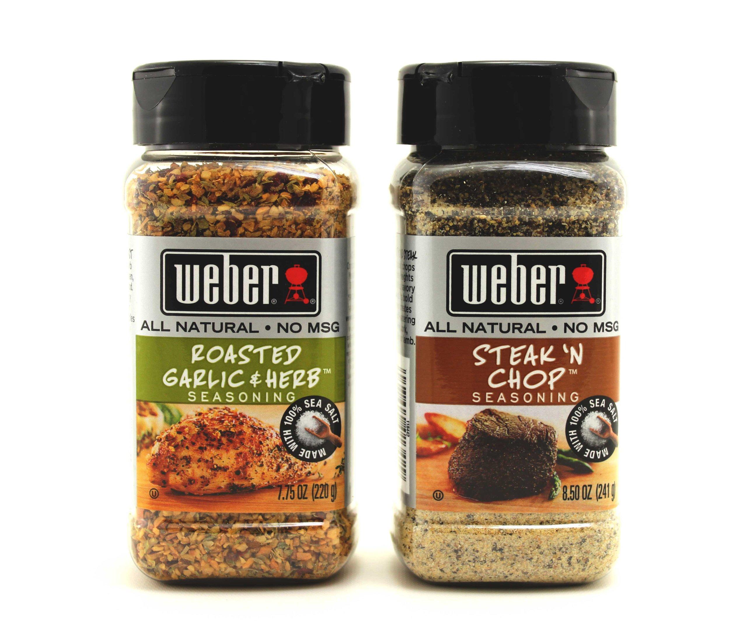 Weber Meat Seasoning Variety 2 Pack