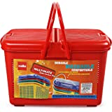 Cello Multimate Polypropylene Utility Basket, Small,Red