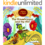 The Grasshopper and the Ant: Aesop's Fables in  Verses (Children's story picture books Book 3)