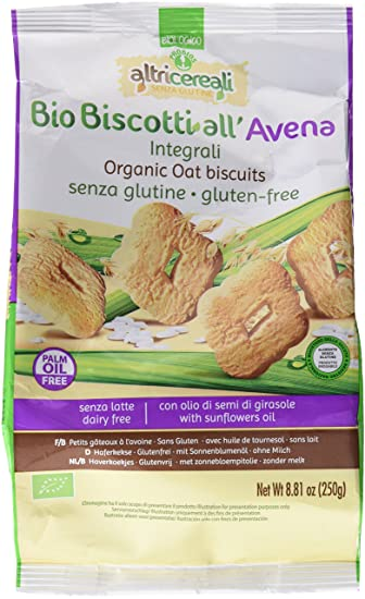 AltriCereali Biscuits All Avena Integral Gluten Free 250g