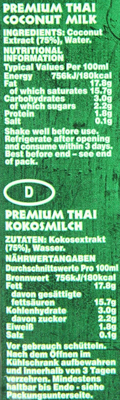 Grace Premium Coconut Milk 1 Litre (Pack of 12): Amazon.es: Alimentación y bebidas