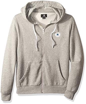ee5456c5cbe2e Converse Men s Core Full Zip Hoodie Sports  Amazon.co.uk  Clothing