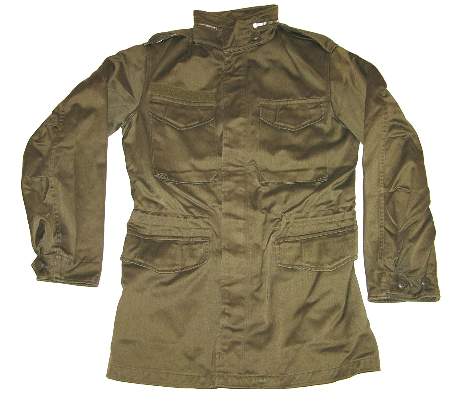 208d494813d VIZ-UK WEAR Austrian Army M65 Olive Drab Field Jacket Grade 1 (34 36)   Amazon.co.uk  Clothing
