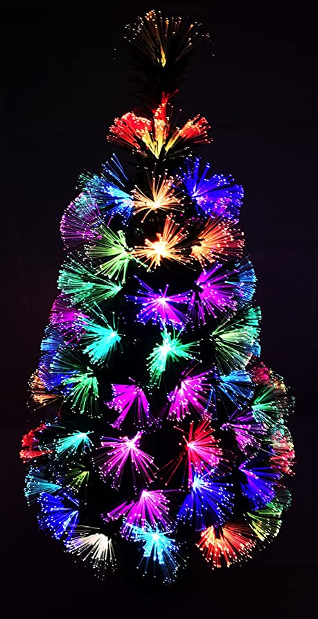 Christmas Concepts® 36 Inch 3FT Green LED Firework Fibre Optic  - 36 Fiber Optic Christmas Tree