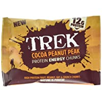 Trek Cocoa Peanut Protein Bitesize Chunks - Box of 14 Packs